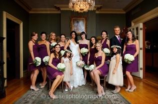 Eggplant Purple Jenny Yoo Bridesmaid Dresses