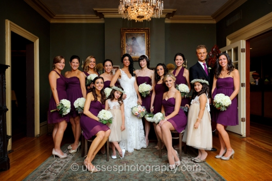 Eggplant Purple Jenny Yoo Bridesmaid Dresses