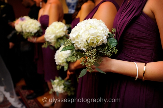 Simple Bridesmaid Bouquets