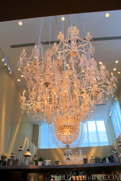 Chandelier at Mondrian Soho