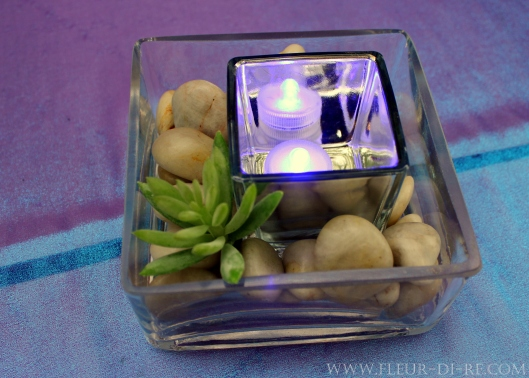 River Rock Centerpieces