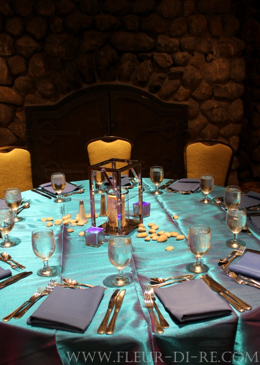 Blue Catering Linens