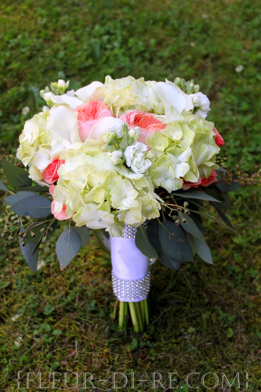 Bouquet with Crystal Handle